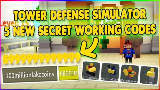 Roblox Tower Defense Simulator Updated October 2020 Qnnit